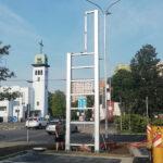 Konstrukce pylonu pro Kaufland kopie